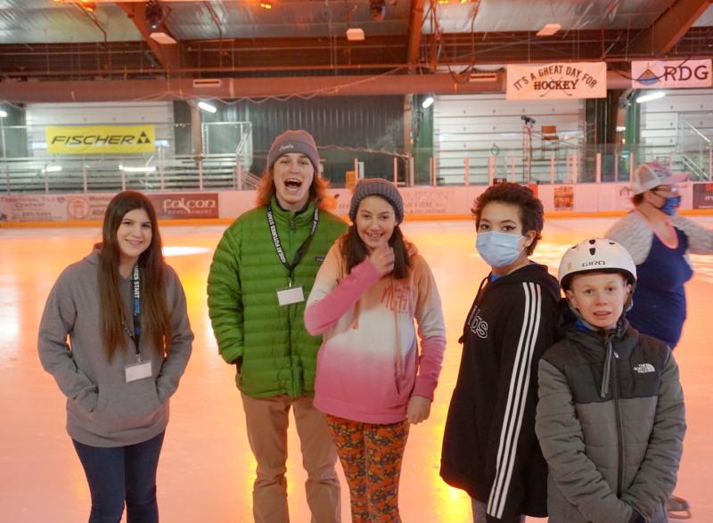 kids of boys and girls club christmas caroling